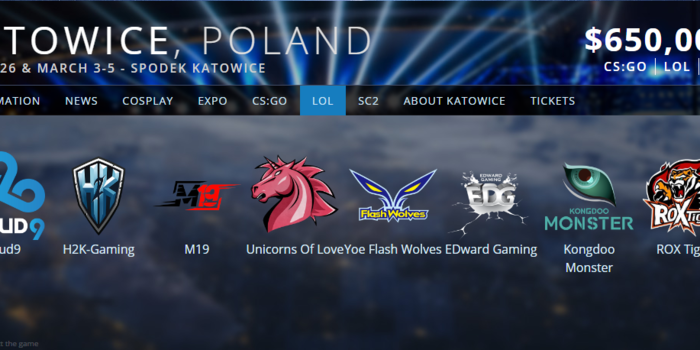 League of Legends - Itt az IEM Katowice League of Legends lineup-ja!