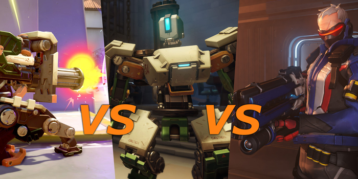 Overwatch - Bastion 2.0 VS. Soldier 76 - Videó