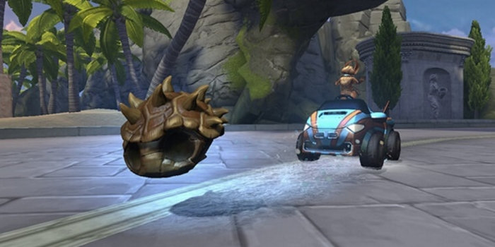 Esport - Smite + Mario Kart = Apollo's Racer Rumble!