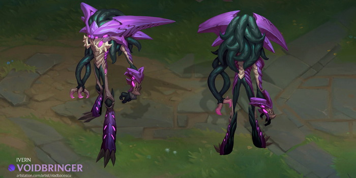 League of Legends - Brutálisan jó lett ez a Voidbringer Ivern skin!
