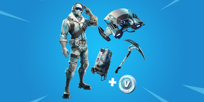 Fortnite - Megérkezett az in-game store-ba a Deep Freeze Bundle
