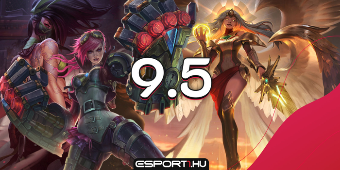 League of Legends - 5 hős, akik nagyot mentek a 9.5-ben!