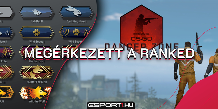 CS:GO - Megérkezett a ranked mód a CS:GO Battle Royale-ba is