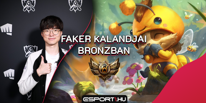 League of Legends - Faker + Teemo + Bronz liga = vereség