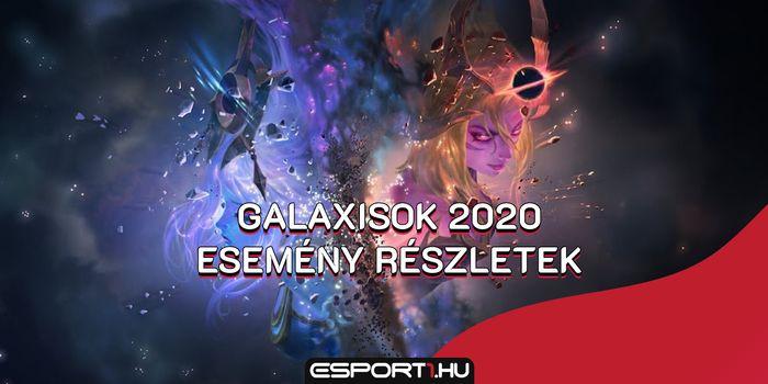 Galaxies 2020 esemény minden tudnivaló: Küldetések, jutalmak, event pass, skinek és mérföldkövek