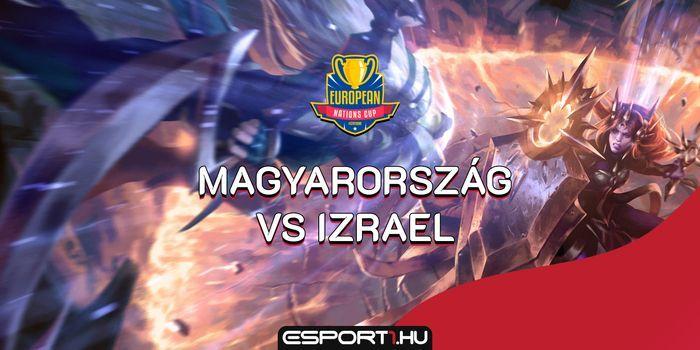 Izrael ellen küzd meg ma este a magyar LoL válogatott a rájátszás első körében