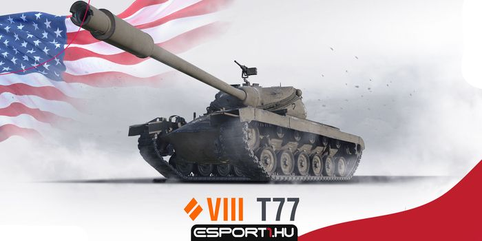 World of Tanks - Erre képes a T77, a tier VIII-ba butított T57 Heavy