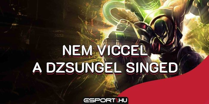League of Legends - LoL: Se leash, se poti nem kell a jungle Singednek, így is működik