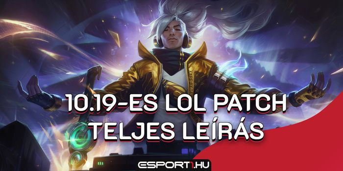 League of Legends - Megérkezett a 10.19-es LoL patch: 6 hős nerfet, 8 buffot kapott