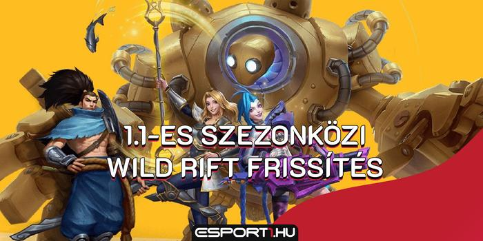 League of Legends - Befutott egy új patch a Wild Rifthez, a mobilos League of Legendshez