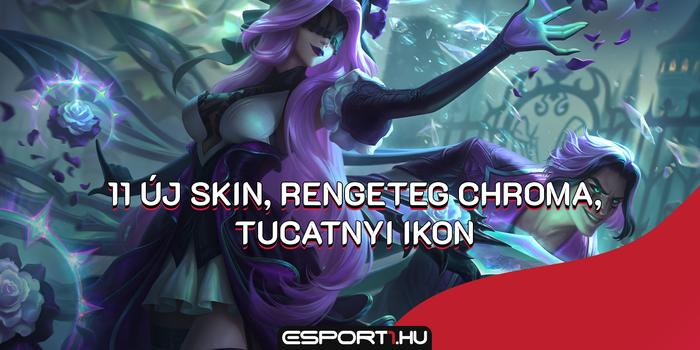 League of Legends - Lol: 11 új hőskinézetet mutatott be a Riot Games