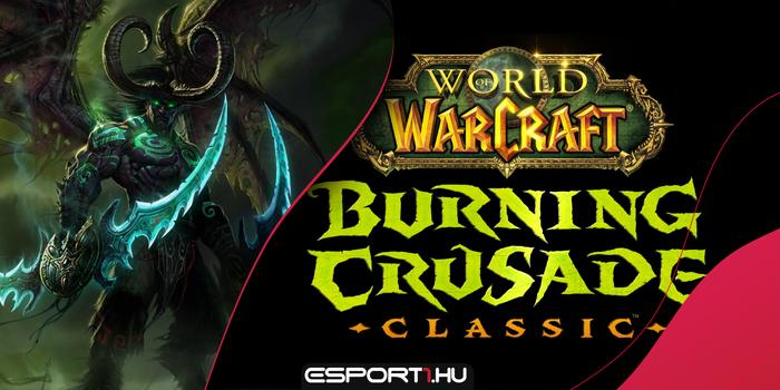 Gaming - BlizzConline: Jön a World of Warcraft: Burning Crusade Classic
