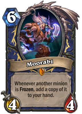 hs blizzard frozenthrone legendary